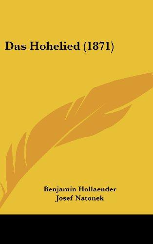 9781161902495: Das Hohelied (1871)