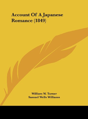 9781161978728: Account of a Japanese Romance (1849)