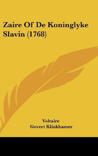 9781162052748: Zaire Of De Koninglyke Slavin (1768) (Chinese Edition)