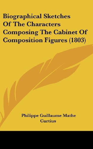9781162115986: Biographical Sketches of the Characters Composing the Cabinet of Composition Figures (1803)