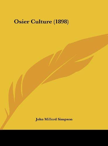 9781162176208: Osier Culture (1898)