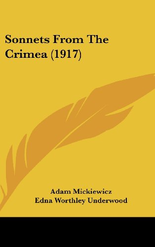 9781162189673: Sonnets From The Crimea (1917)