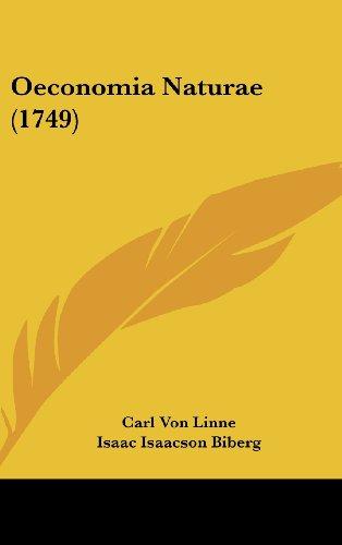9781162192741: Oeconomia Naturae (1749)