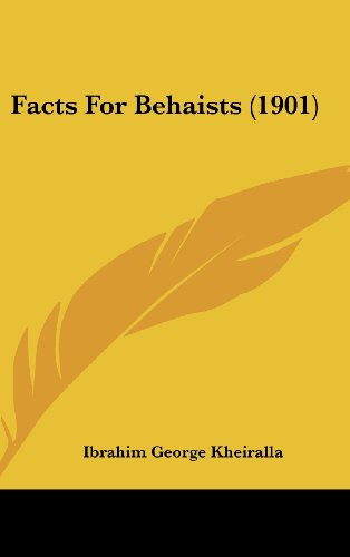 Facts For Behaists (1901)