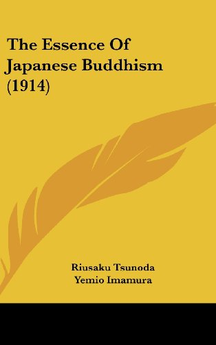9781162203799: The Essence of Japanese Buddhism (1914)