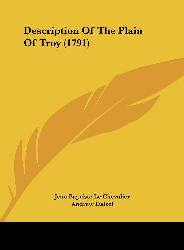9781162212357: Description of the Plain of Troy (1791)