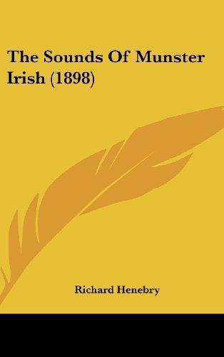 9781162253152: The Sounds Of Munster Irish (1898)