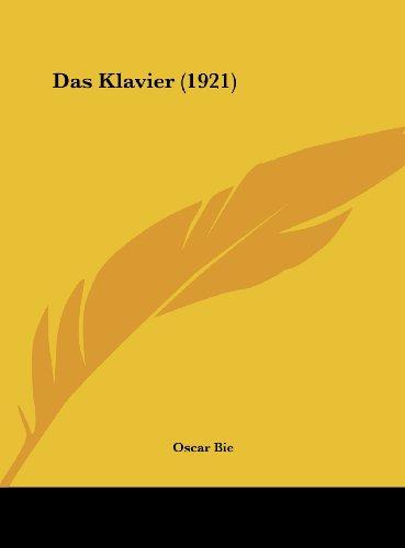 9781162409757: Klavier (1921)