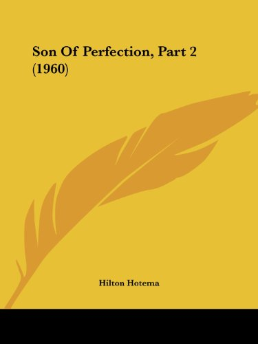 9781162556536: Son Of Perfection, Part 2 (1960)
