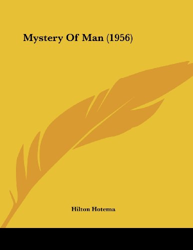 9781162556567: Mystery Of Man (1956)