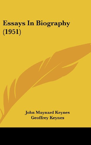 essays in biography john nard  9781162559483 essays in biography 1951