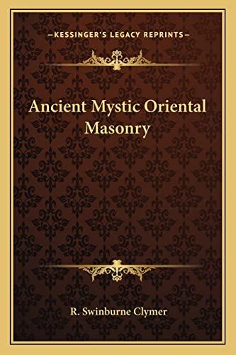 9781162566634: Ancient Mystic Oriental Masonry