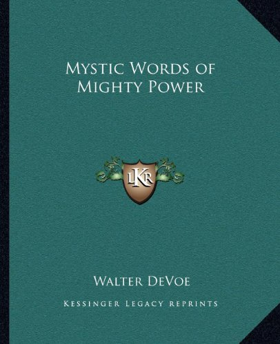 9781162568027: Mystic Words of Mighty Power