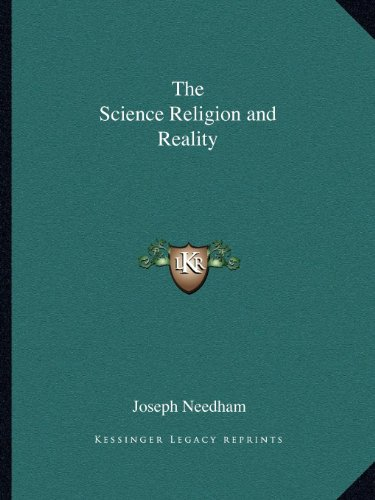 9781162579245: The Science Religion and Reality