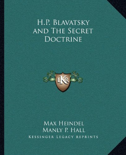 9781162581842: H.P. Blavatsky and The Secret Doctrine