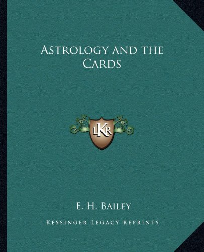 9781162583334: Astrology and the Cards