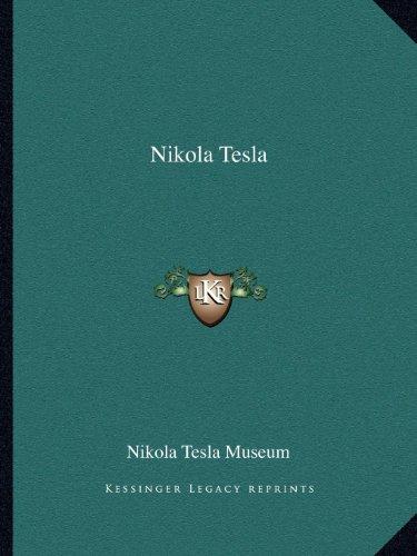9781162586359: Nikola Tesla