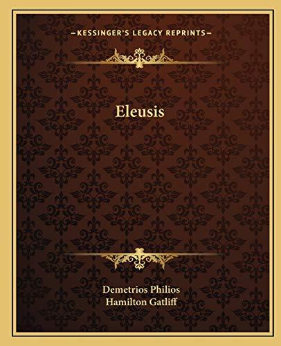 9781162586397: Eleusis