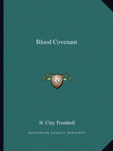 9781162588384: Blood Covenant
