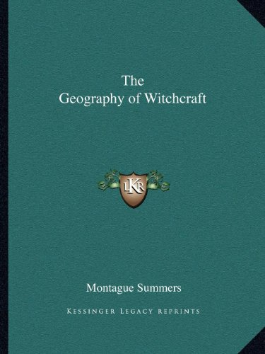 9781162593210: The Geography of Witchcraft