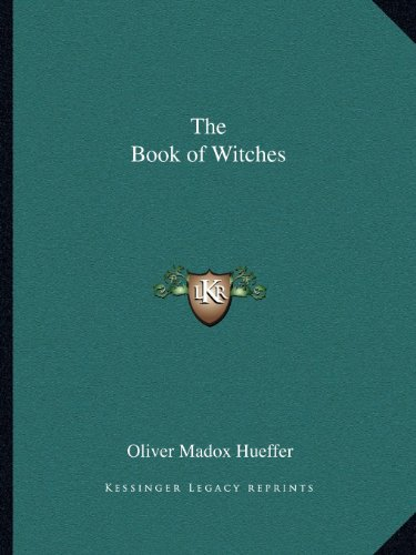 9781162593524: The Book of Witches