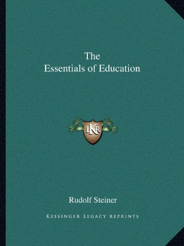 9781162595375: The Essentials of Education