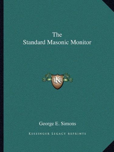 9781162600932: The Standard Masonic Monitor