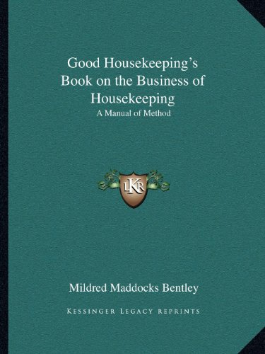 Good Housekeeping's Book on the Business of