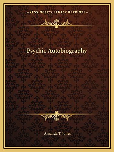 9781162609348: Psychic Autobiography