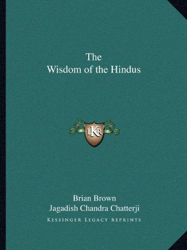 9781162617497: The Wisdom of the Hindus