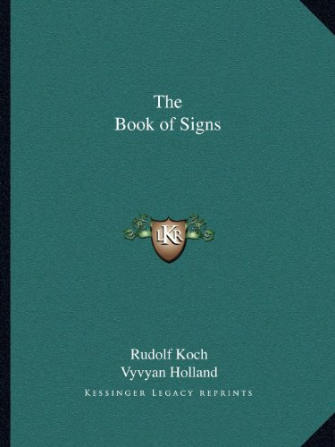 9781162621289: The Book of Signs