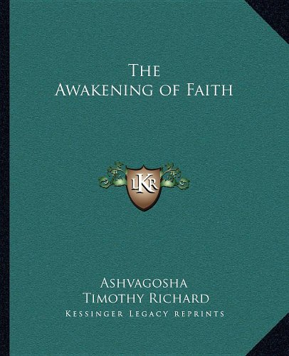 9781162621326: The Awakening of Faith