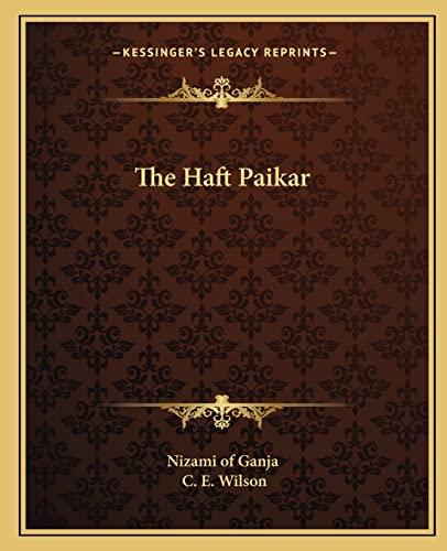 9781162621951: The Haft Paikar