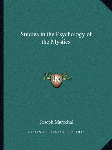 9781162623276: Studies in the Psychology of the Mystics