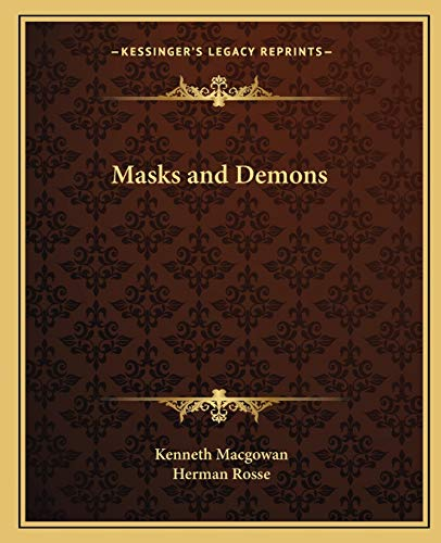 9781162624266: Masks and Demons