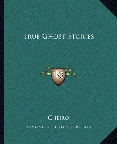 True Ghost Stories (1162631066) by Cheiro