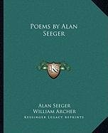 9781162634180: Poems by Alan Seeger