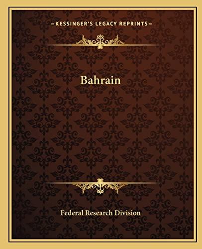 9781162654447: Bahrain