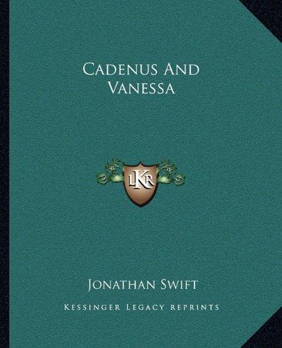 9781162656694: Cadenus And Vanessa