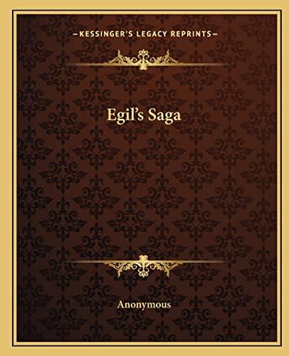 9781162660882: Egil's Saga