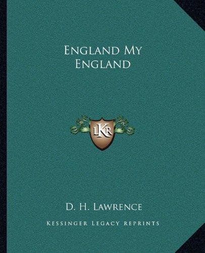 9781162661254: England My England