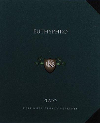 9781162661919: Euthyphro