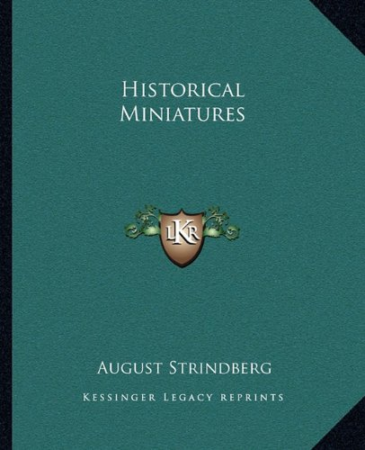 9781162666044: Historical Miniatures