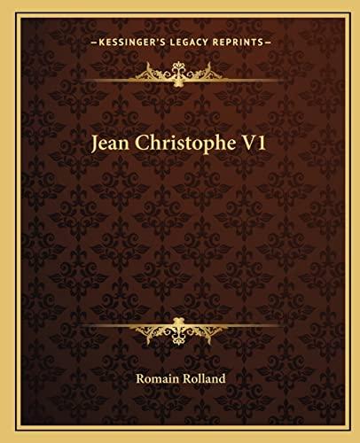 9781162668871: Jean Christophe V1