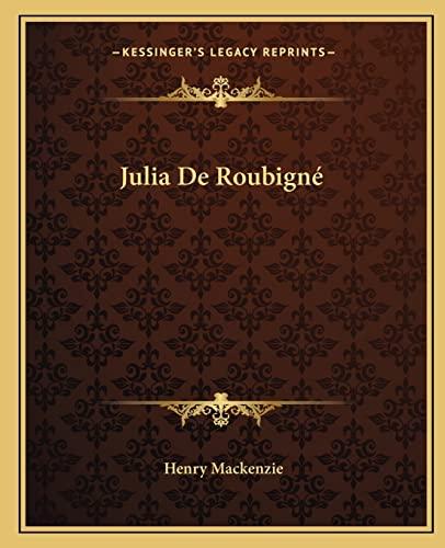 9781162669519: Julia De Roubigné