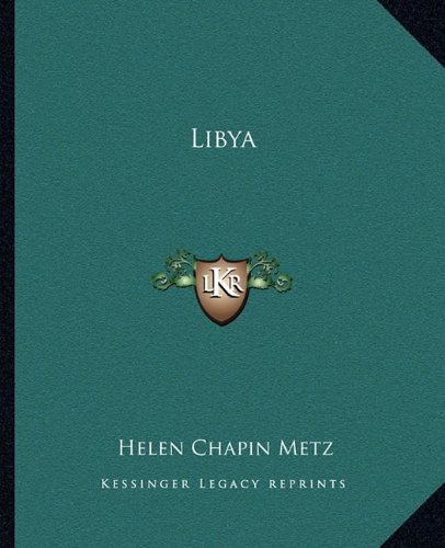 9781162670829: Libya