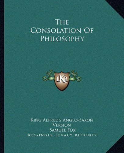 9781162691435: The Consolation Of Philosophy