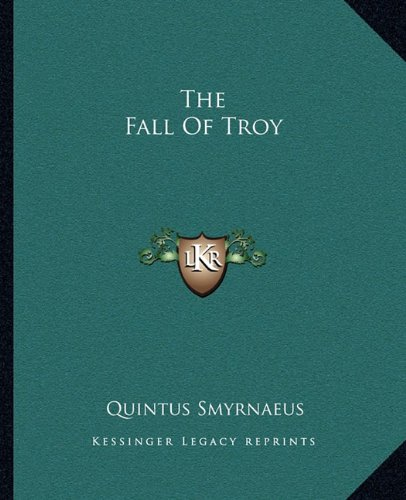 9781162694269: The Fall Of Troy