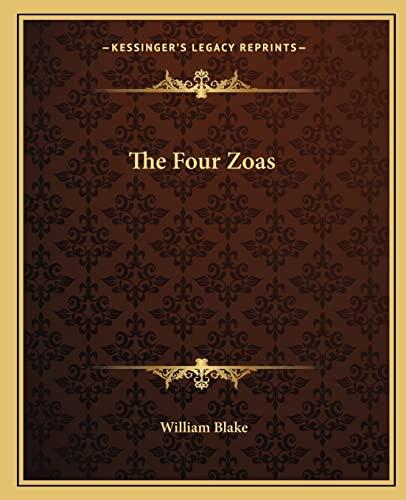 9781162695082: The Four Zoas