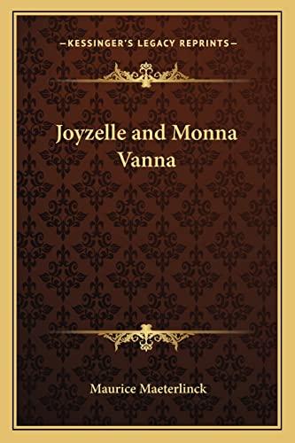 9781162727158: Joyzelle and Monna Vanna
